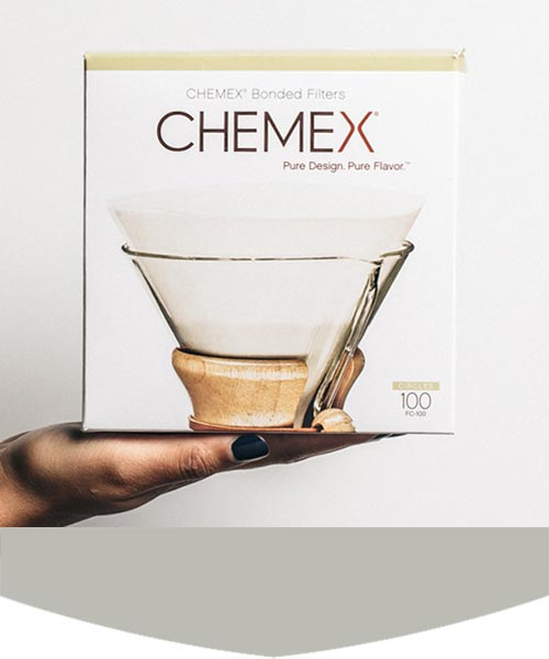Chemex Prefolded Papers
