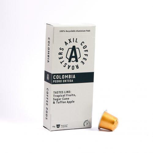 Colombia Pedro Ortega Coffee Pods