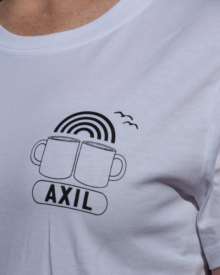 Axil Birthday White Tee